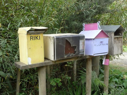 Interesting mailboxes