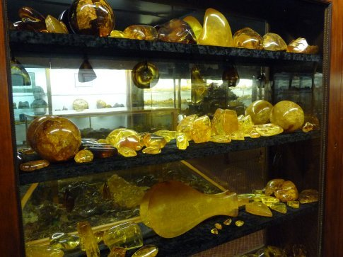 Kauri gum in the museum