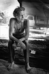 Colin 'Joey' Hawkes, Opal miner.  Living day to day hoping for 'the big one': by kristinafromwinton, Views[892]
