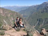 Resting on the hike near Colca Canyon: by kristinandchris, Views[98]