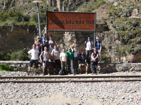 First day of the Inca Trail