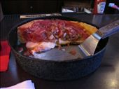 The remains of my SMALL deep dish pizza: by krit, Views[178]