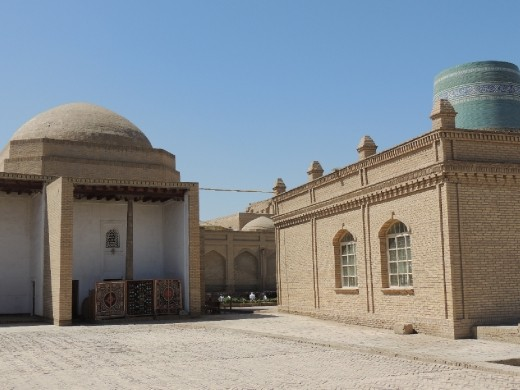 Khiva street scene