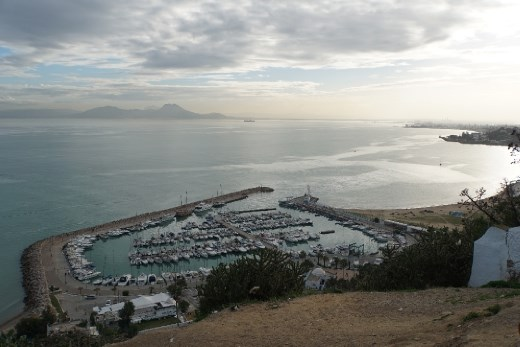 Sidi Bou Said harbor
