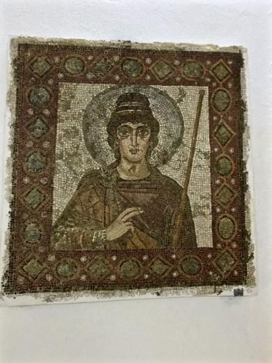 Lady of Carthage mosaic