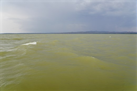 Lake Tana with storm approaching