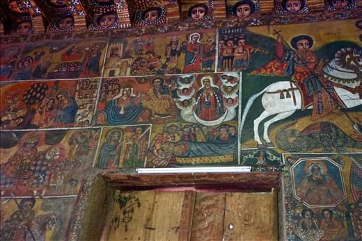 Marian wallpaintings in Debre Birham Selassie Church