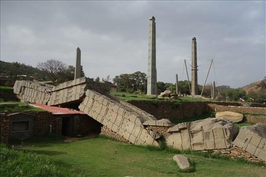 Axum Stele Field