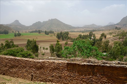 view behind Yeha temple