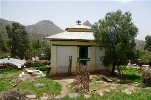 ca. 600 CE church at Yeha