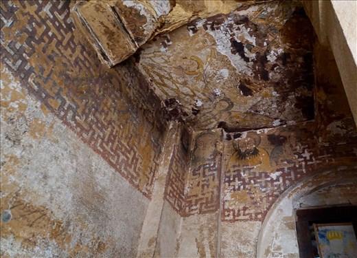 6-7th C frescos Wuqro Cherkose Church
