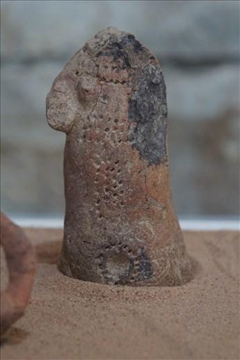8th C BCE tattooing - artifact in Wukro Museum