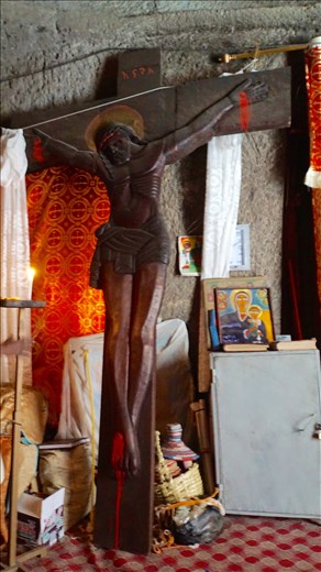 Ashteon Monastery crucifix
