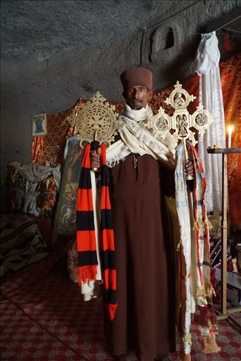 Asheton Monastery with Gondar & Axum Crosses