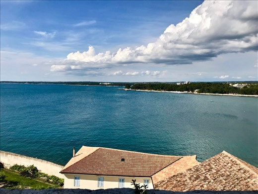 view from campanile Porec