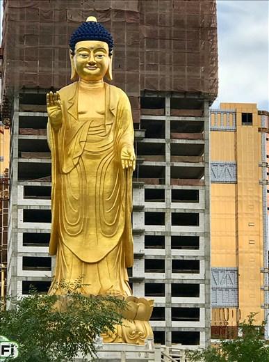 Buddha in Peace Park, UB