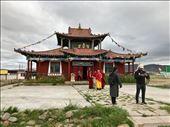 Murun monastery temple with monks, Damba and Booloroo: by krodin, Views[58]