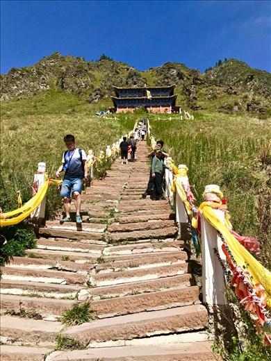 Upper temple climb
