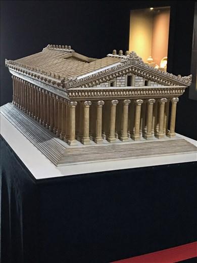 Model of ancient Artemision, Ephesus Museum