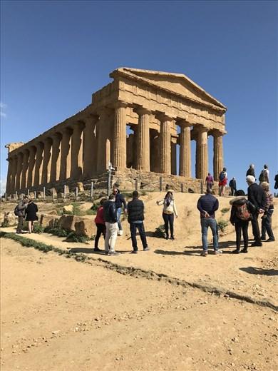 Concordia Temple, Valle dei Templi, Agrigento