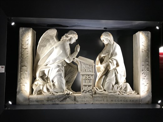 1525 Marble Annunciation, Erice Museum