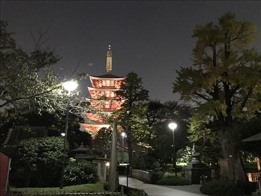 Asakusa Temple 5 level pagoda