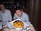 Birthday Boy Wil's Lady Beatle Cake.  Yummy cake!: by ktphelan1980, Views[332]