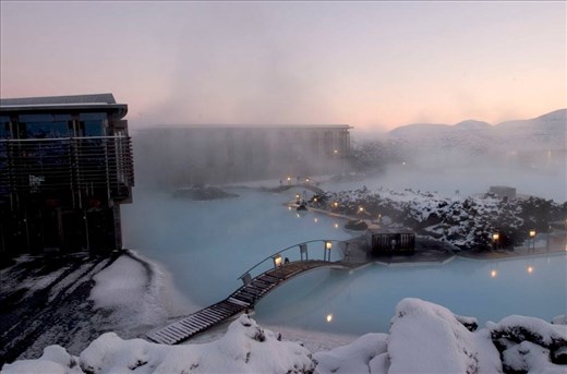 © Blue Lagoon Iceland (sorry, didn't bring my camera into the pool)
