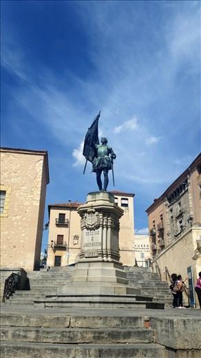 Segovia's hero: Juan Bravo.