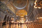 The interior of the retired mosque, Hagia Sophia: by kylegaunt, Views[311]