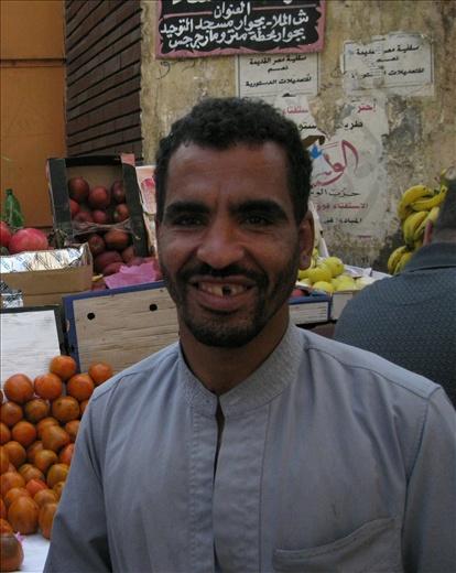 fruit vendor old cairo
