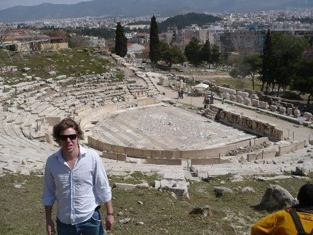 Ancient Theature on the edge of the Acropolis.