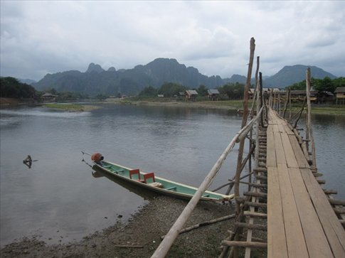Typical view from Vang Vieng <3