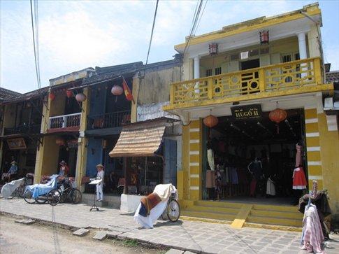old builings in Hoian