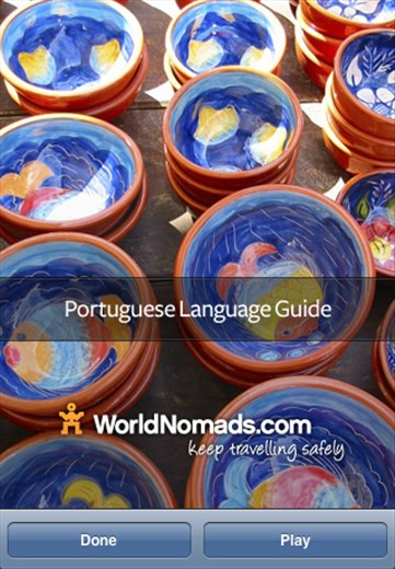 A screenshot from our Portuguese language guide