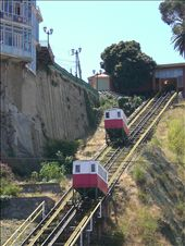 Funiculars - scary but fun in Valparaiso: by lani, Views[2753]