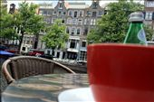 The view from Beans & Bagel's coffee shop on the canal in Amsterdam.: by lani, Views[403]