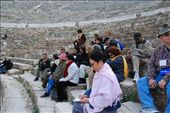 This tour guide was reading Ephesians to his group.: by larasumera, Views[205]