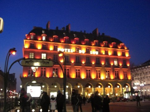 The Louvre Hotel.