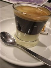 Cafe Bombom, my new love (just because I like to say it, and it is tasty).  Coffee with condensed milk.: by larasumera, Views[353]