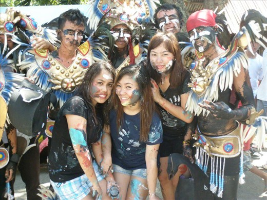 a photo together with the street dancers...