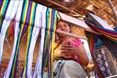 Sasak tribes are known for its hand-made woven.: by lauravalencia, Views[105]