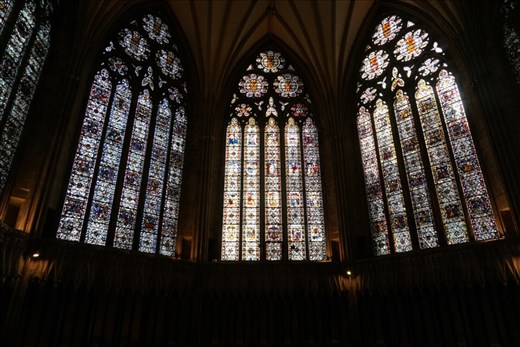 York Minster windows
