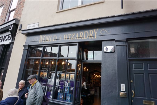 and Another Harry Potter store on the Shambles