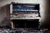 Out of tune. An old piano at an abandoned hospital.: by laurenfarmer, Views[670]
