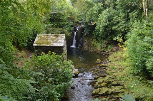 Wordsworth's waterfall cottage: A beautiful view from inside