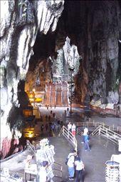 Batu Caves, Hindu shrine/limestone caves: by laurentravels08, Views[271]