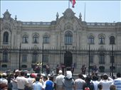 noontime band, changing of the guard, plaza mayor (de la independencia)lima: by ldeutch, Views[626]