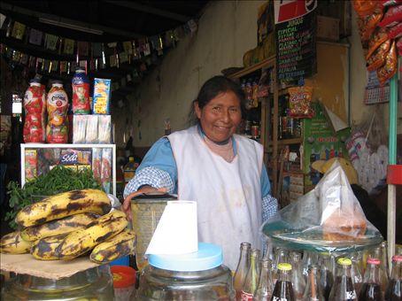 market in Juliaca