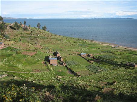 llachon, lake titicaca